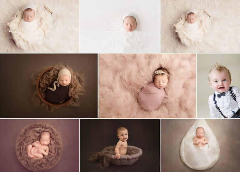 session info for newborn baby photography